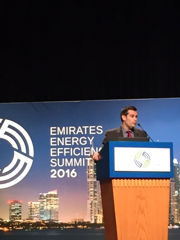 Welcoming and Introduction of the Emirates Energy Efficiency Summit (EEES) Day 2 by Mr. Agostino Renna, Chief Commercial Officer (CCO) of General Electric.