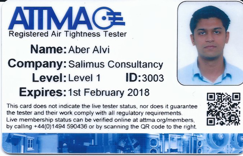 A. Alvi - ATTMA Registered Level-1 Air Tightness Tester - Feb 2018_Page_1