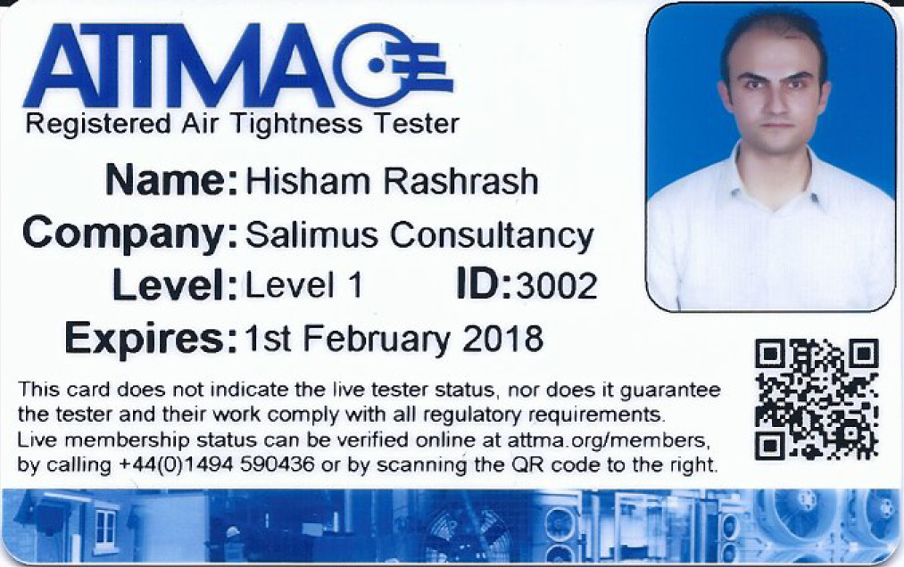 H. Rashrash - ATTMA Registered Level-1 Air Tightness Tester - Feb 2018_Page_1