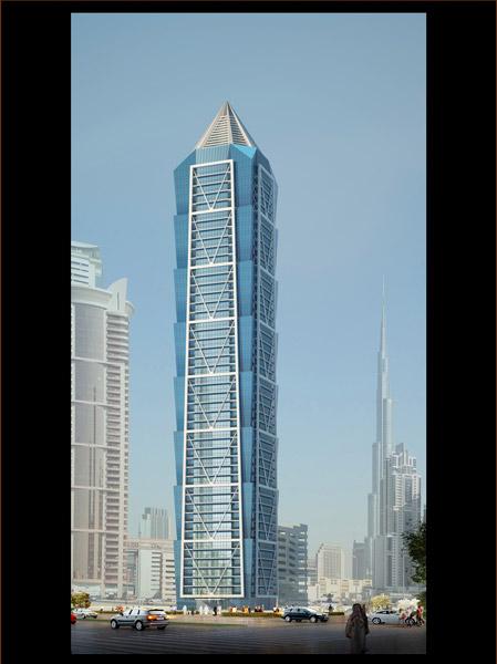 Al Bathaa Tower successfully passed the the Air Tightness Test